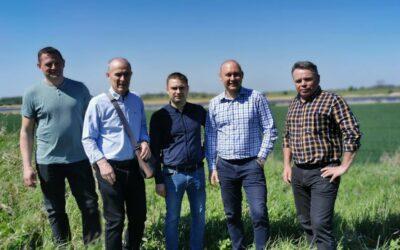 Budowa syfonu magistrali CWŻ pod rzeką Nogat