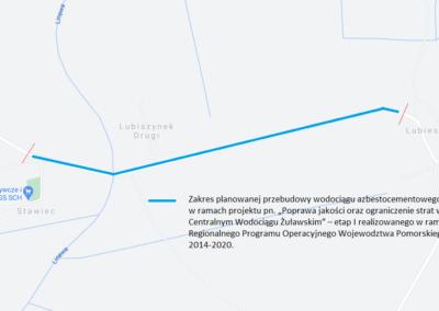 Zakres przebudowy Lubieszewo Stawiec - schemat (002)