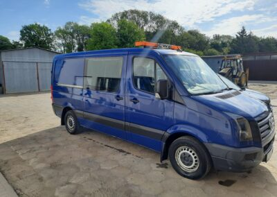 VW Crafter.