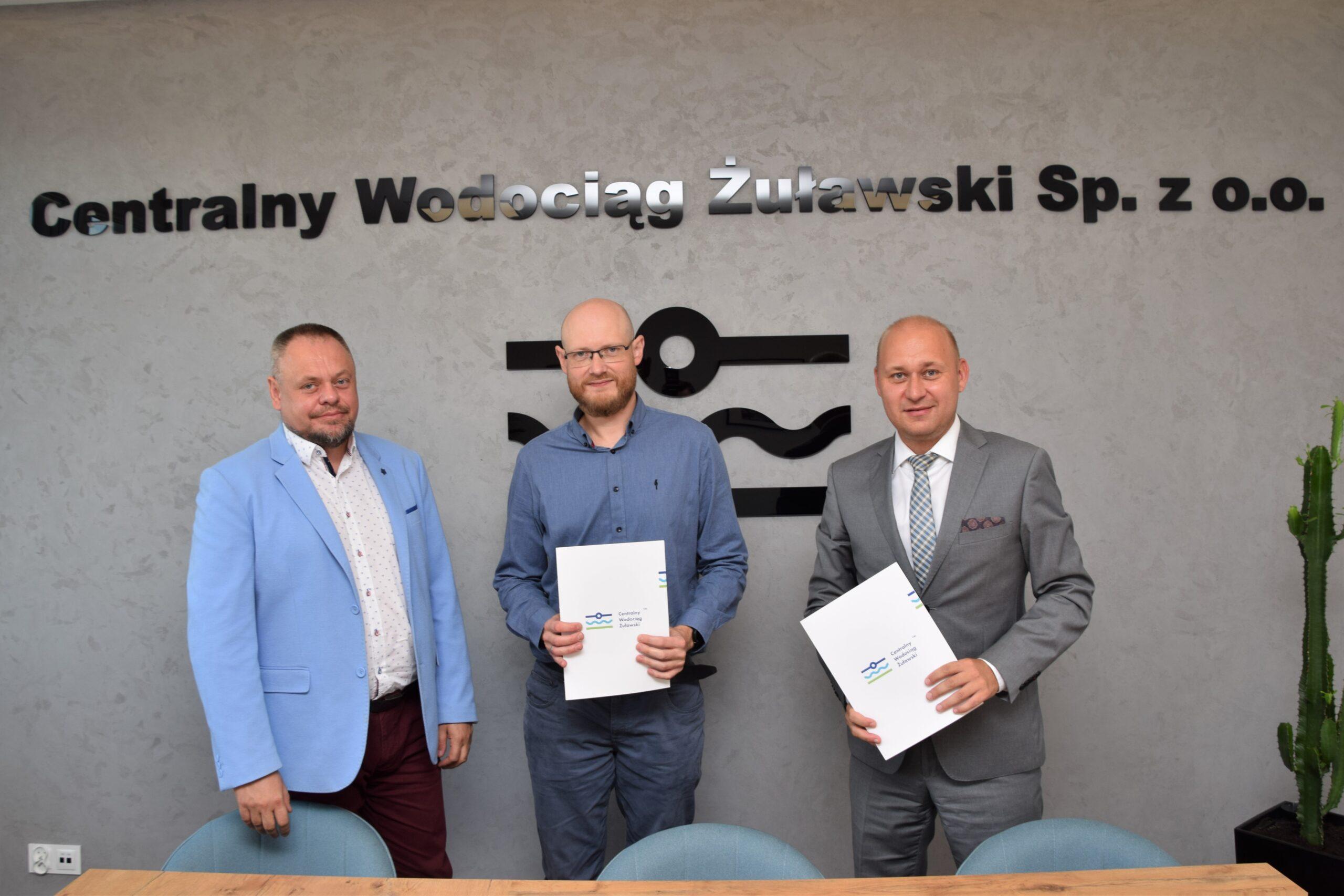 Umowa na budowę wodociągu Lubieszewo – Stawiec podpisana