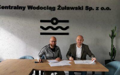 Inspektor nadzoru na budowę wodociągu Lubieszewo – Stawiec wyłoniony